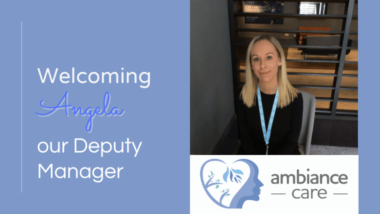 Stockport dementia care service Ambiance Care takes on deputy manager