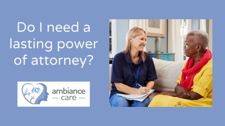 Dementia power of attorney