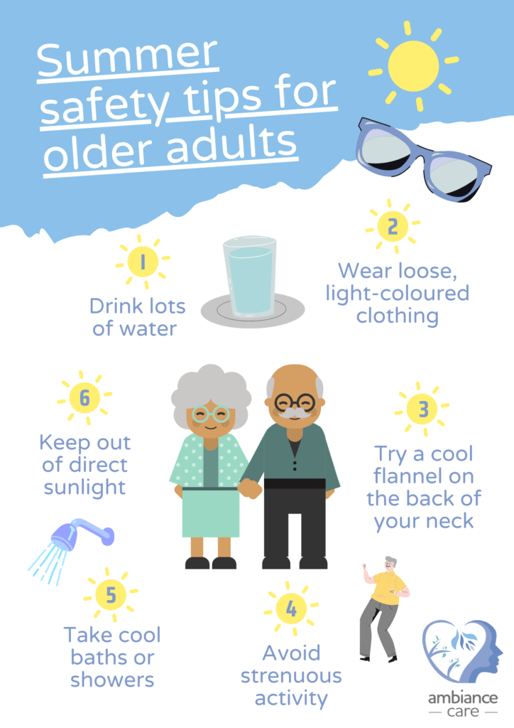 summer safety tips for older adults with dementia