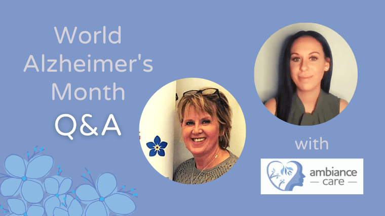 World Alzheimer's month video Q&A